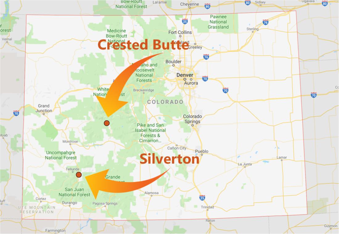 Summer 2019 Map